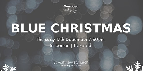Blue Christmas tickets