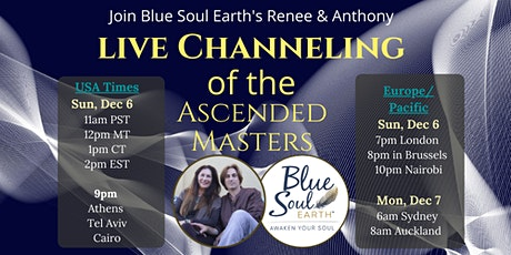 A DIALOGUE with the ASCENDED MASTERS: FREE Live Channeling Event tickets