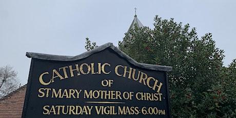 Saturday evening Vigil Mass  at 6pm at St Mary's RC Church, Crowborough tickets