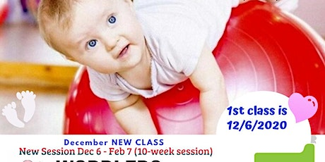 Wobblers & Wigglers Gym Class- age 14 .- 26 mos. tickets