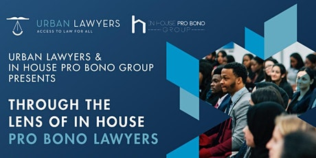 Through the lens of inhouse pro bono lawyers tickets