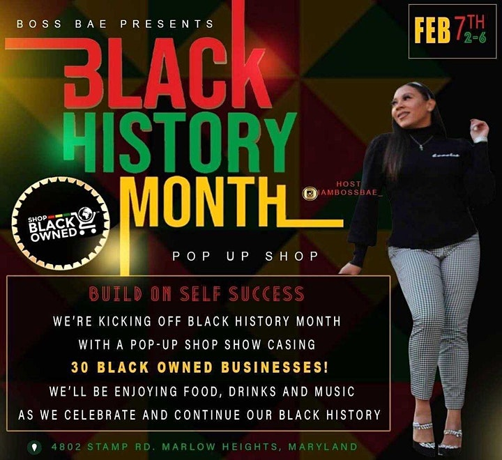 Boss Bae Black History Month Pop Up Shop image