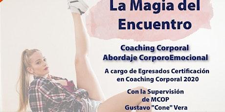 La Magia del Encuentro: Coaching Corporal - Equipo D entradas