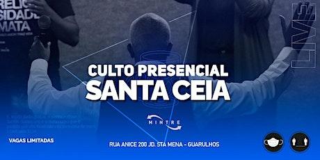 Santa Ceia | MINTRE ingressos