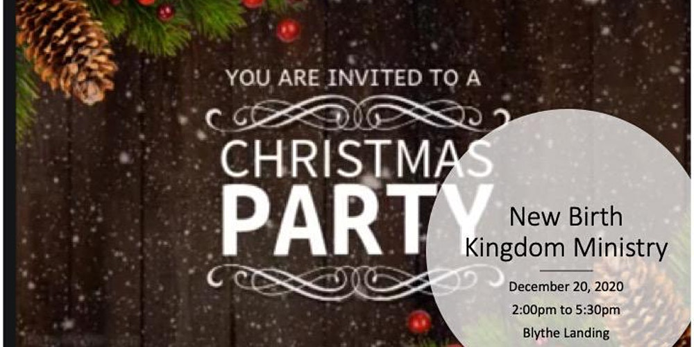 New Birth Kingdom Ministry Christmas Party Tickets, Sun, Dec 20