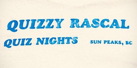 Quizzy Rascal Online Quiz Nights tickets