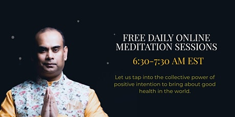 Daily Online Healing Meditation for COVID-19 tickets