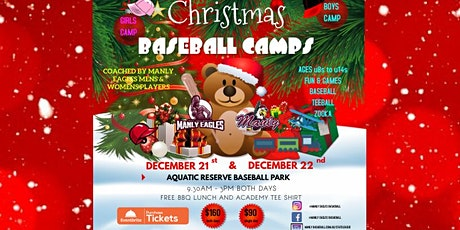 Christmas Baseball Camps tickets
