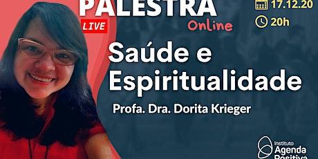 Palestra On-line - Saúde e Espiritualidade ingressos