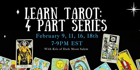 Learn to Read Tarot: 4 Part Series tickets