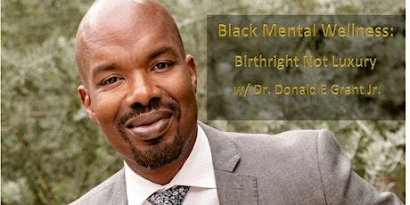When Black Cracks: Black Mental Wellness in Crazy Times (Dec 3-Dec 13) tickets