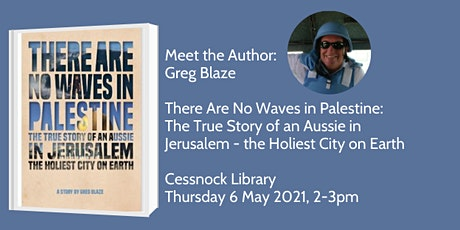 Meet the Author: Greg Blaze - There Are No Waves in Palestine tickets