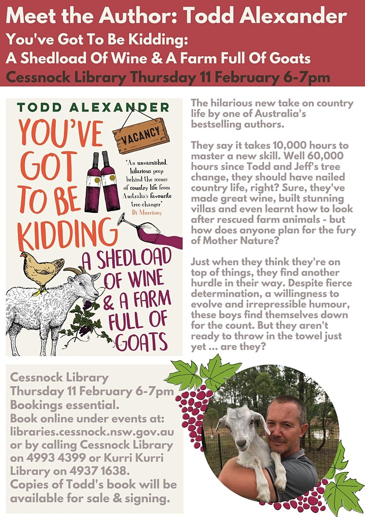Meet the Author: Todd Alexander image