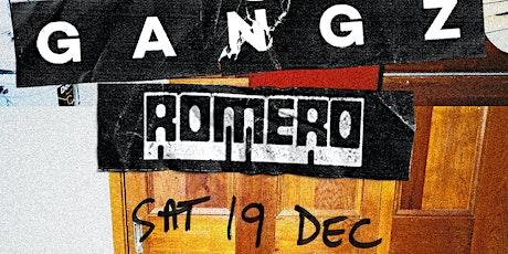GANGZ// Romero - Late Show tickets