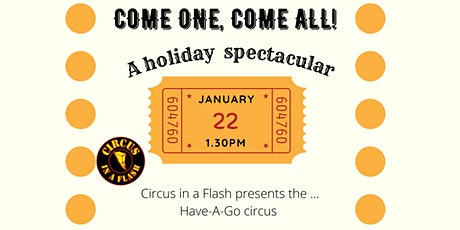 Circus in a Flash tickets