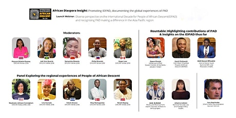 African Diaspora Insight: Dialogue on UN decade for People African Descent tickets