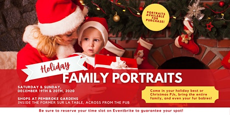 Holiday Christmas Portraits tickets