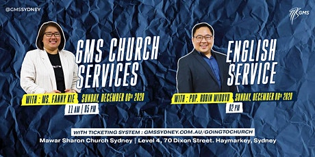 Sunday Live Service 3 @ 5pm -  6 December 2020 tickets