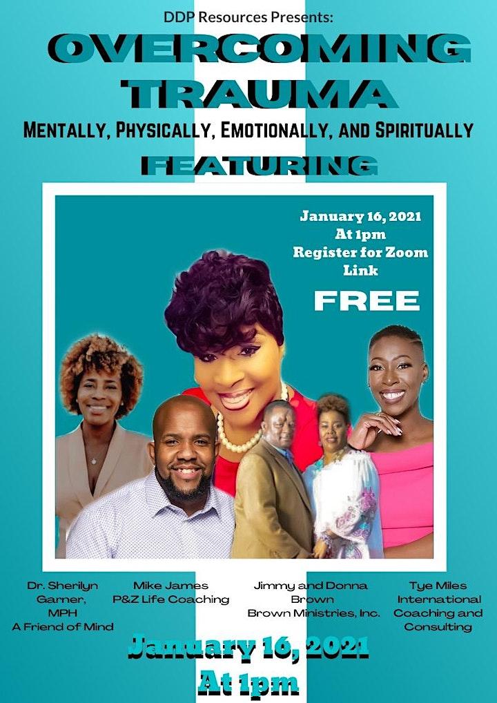 Overcoming Trauma  Mentally, Physically, Emotionally, and Spiritually image