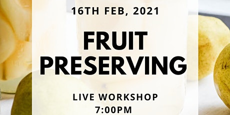 Fruit preserving tickets