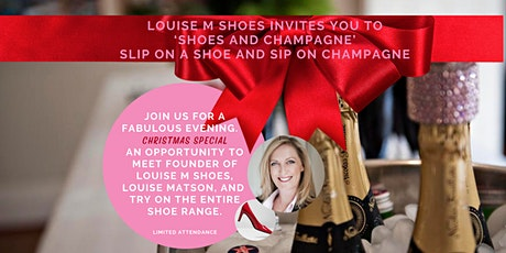 'Shoes and Champagne' Christmas Special Event  - Thursday Evening tickets