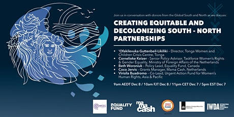 Creating Equitable and Decolonizing South-North Partnerships tickets
