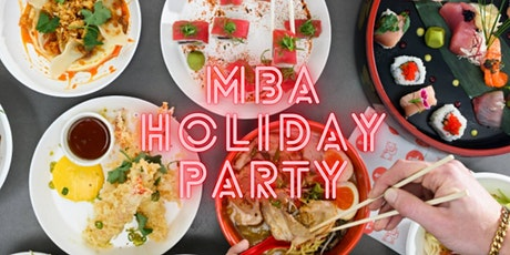 MBA Holiday Party tickets