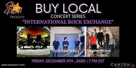 STAR Pow-R 'Buy Local' Concert Series - International Rock Exchange tickets