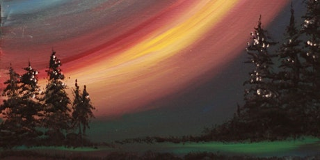 Chill & Paint Sat Night  Auck  City  -  Aurora Australis! (LIMITED SEATS) tickets