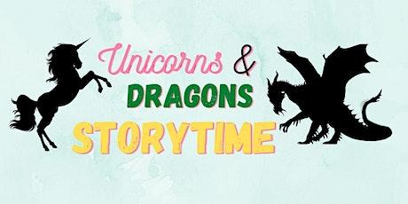Mayor's Summer Reading Club - Unicorns & Dragons Storytime - Hub Library tickets