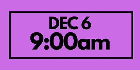 9:00AM Dec 6  - Services & Kids Registration tickets
