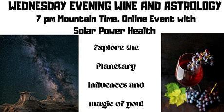 Wednesday Wine And Astrology tickets