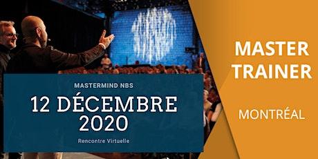 Mastermind NBS - Montreal | Québec - Rencontre virtuelle billets