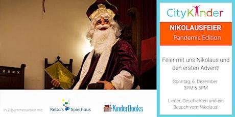 Nikolausfeier mit CityKinder & Freunden tickets
