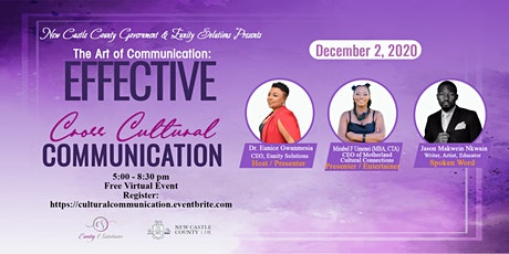 The Art of Communication: Effective Cross Cultural Communication tickets