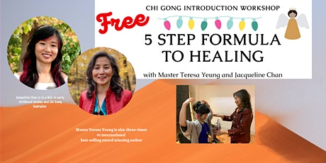 Chi Gong Introduction - 5 Step Formula to Healing tickets
