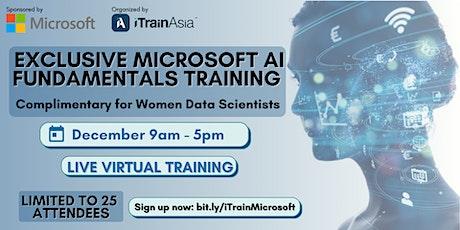 Exclusive Microsoft AI Fundamentals Training for Women Data Scientist tickets