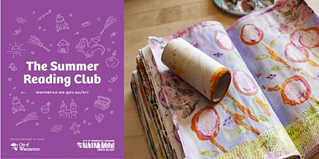 The Summer Reading Club - Art Journaling Workshop @ Clarkson Library tickets