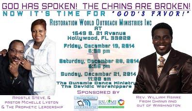 Restoration World Outreach Ministries Inc Events | Eventbrite
