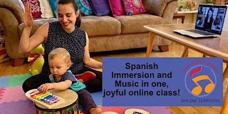 Canta y Baila Conmigo® Online FREE demo class tickets
