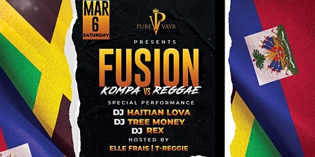 FUSION KOMPA VS REGGAE tickets