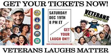 Veterans Laughs Matter tickets