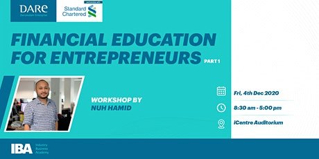 Financial Education for Entrepreneurs Part I by DARe tickets