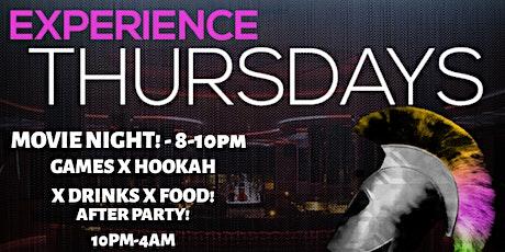 Experience Thursday's! tickets