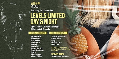 LEVELS LIMITED - DAY & NIGHT tickets