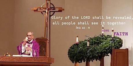 St. Mary - Advent Week 2 Mass - Saturday 5:00 PM, 05-Dec-2020 tickets