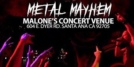 METAL MAYHEM tickets