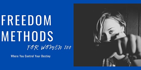 Freedom Methods for Women 100 tickets