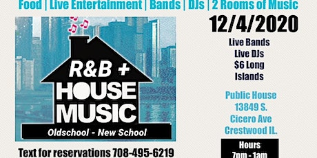 Live Entertainment Fridays with Live R&B Bands & House Music DJS tickets