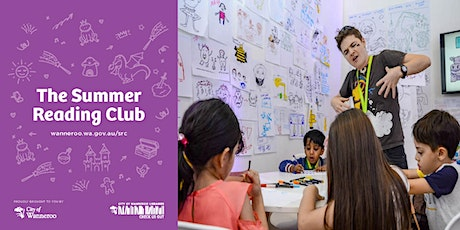 The Summer Reading Club - Design a Character with Aśka @ Wanneroo Library tickets
